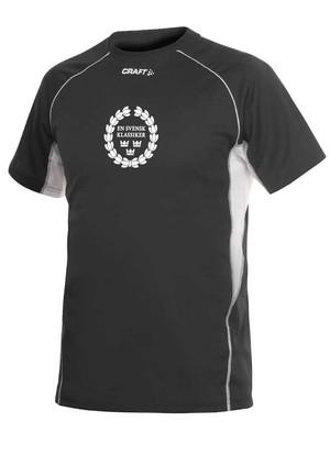 Funktionell tränings t-shirt från CRAFT.,Svart