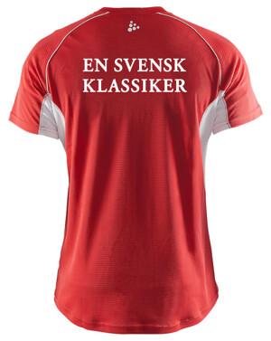 Funktionell tränings t-shirt från CRAFT.,röd