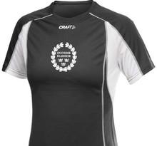 Funktionell tränings t-shirt från CRAFT.,Svart dammodell.
